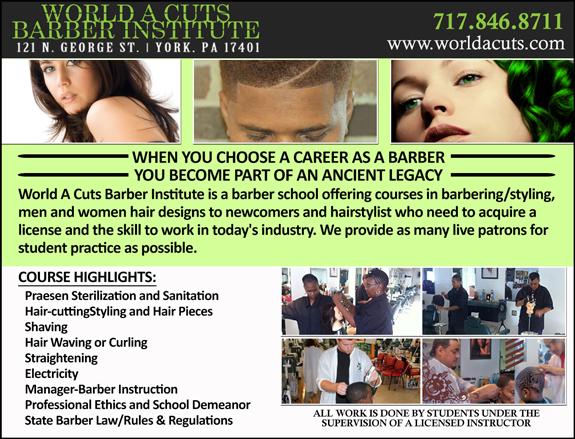 World A Cuts Barber Institute