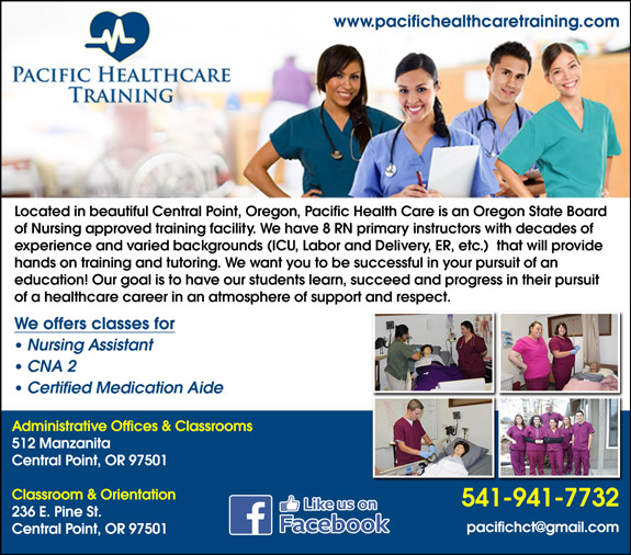 Pacific Health Care Training