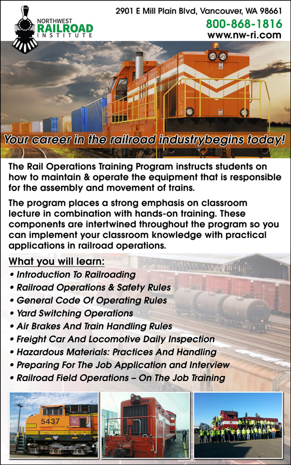 Northwest Railroad Institute
