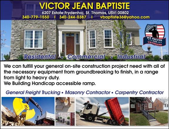 Victor Jean Baptiste Construction