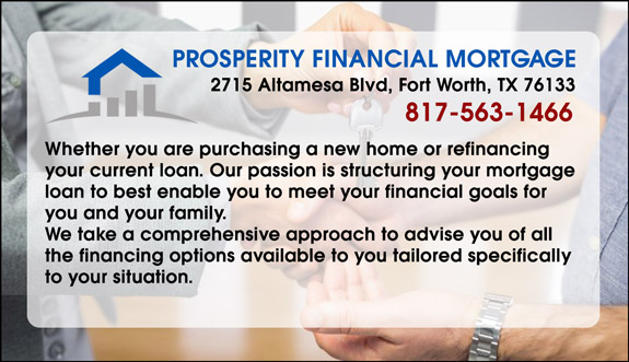 Prosperity Financial Mortgage