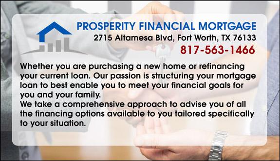Prosperity Financial Mortgage