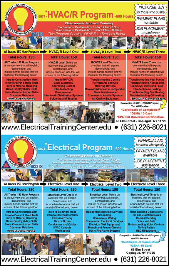 Electrical Training Center, INC