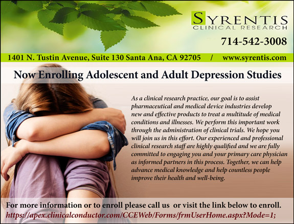 Syrentis  Clinical Research