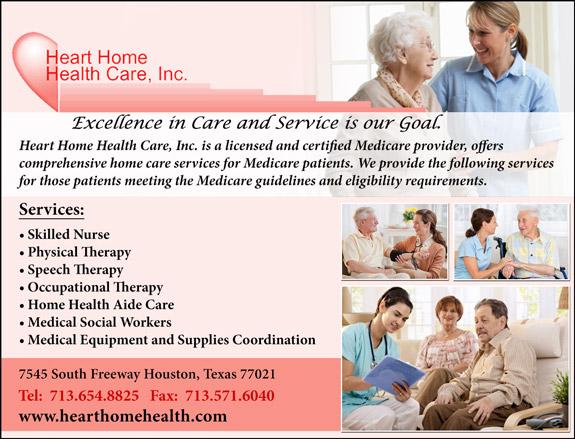 Heart Home Health Care Inc.