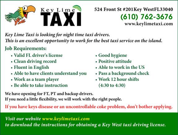 Key Lime Taxi