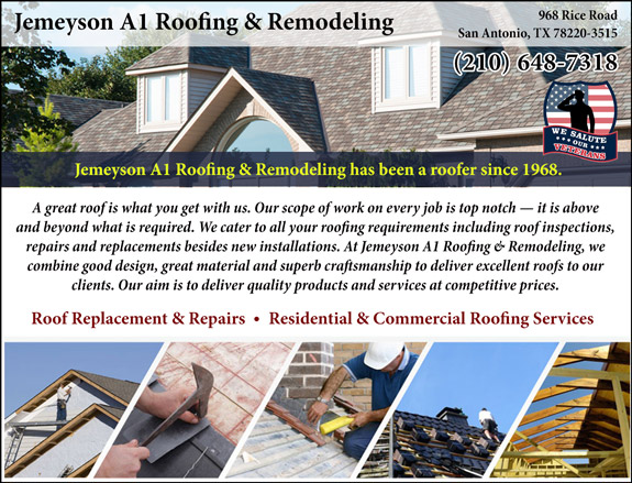Jemeyson A1 Roofing & Remodeling
