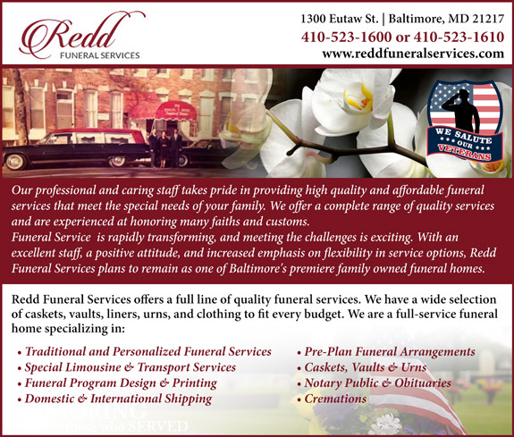 Redd Funeral Services