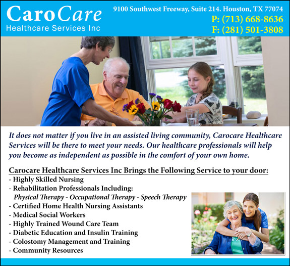 CaroCare Healthcare Services Inc