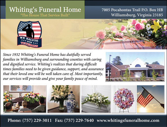 Veteran's View - Whiting's Funeral Home
