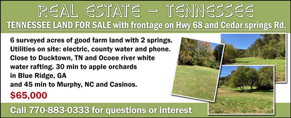 Veteran's View - Lands/Acres for Sale - Tennessee