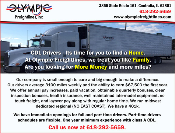 Olympic Freightlines, Inc.