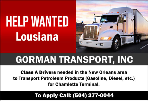 Gorman Transport, Inc