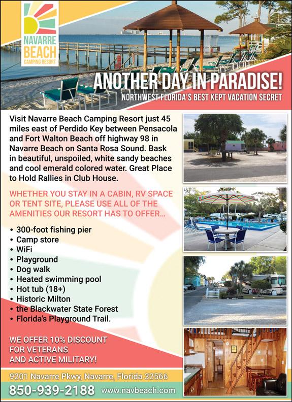 Navarre Beach Camping Resort