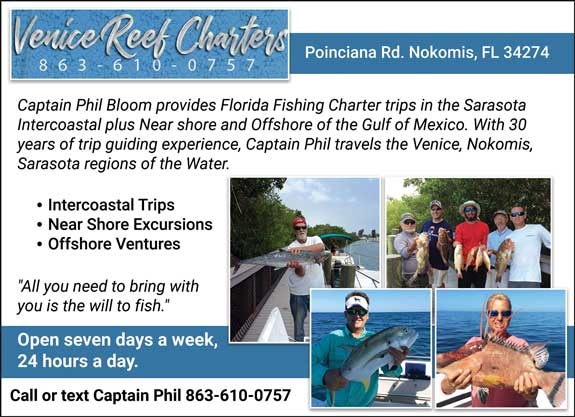 Venice Reef Boat Charters