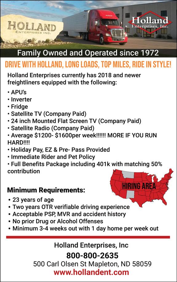 Holland Enterprises, Inc