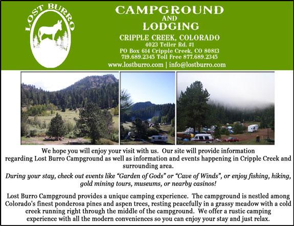 Lost Burro Campground & Lodge
