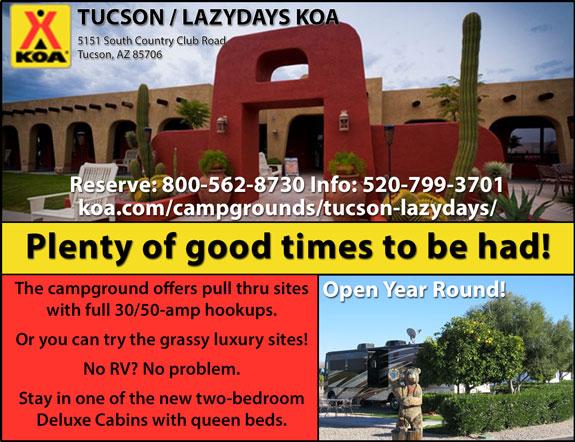 Tucson/Lazy Days KOA