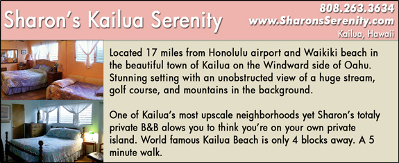 Sharon's Kailua Serenity