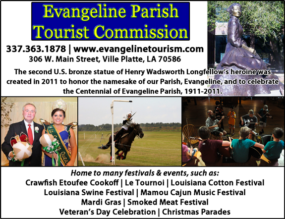 Evangeline Parish Tourist Commission