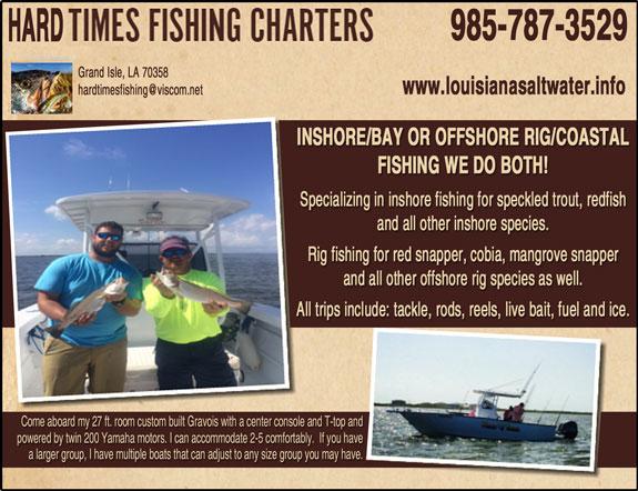 Hard Times Fishing Charters
