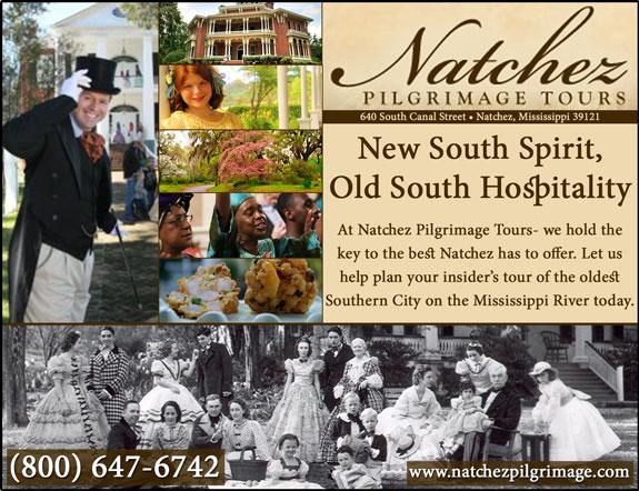 Natchez Pilgrimage Tours