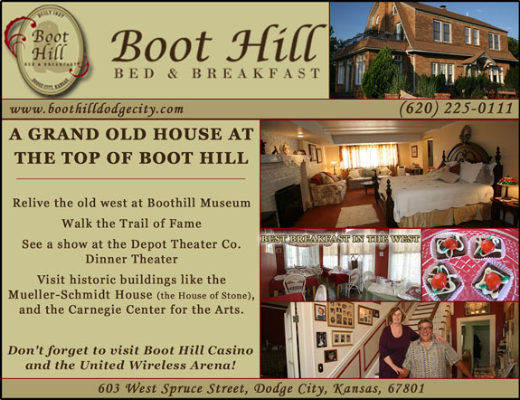 Boot Hill Bed and Breakfast