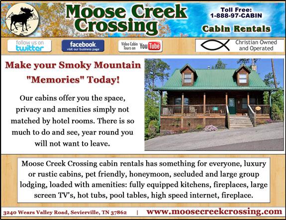 Moose Creek Crossing Sevierville Tn