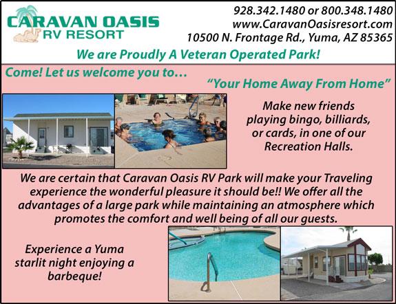 Caravan Oaisis RV Resort