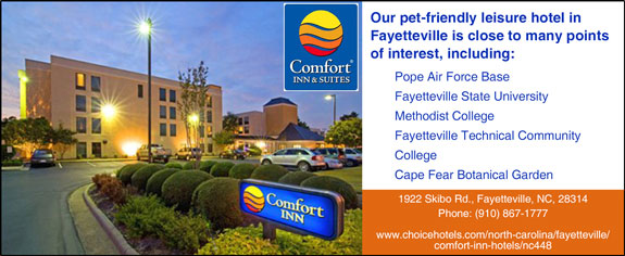 Comfort Inn - Fort Bragg