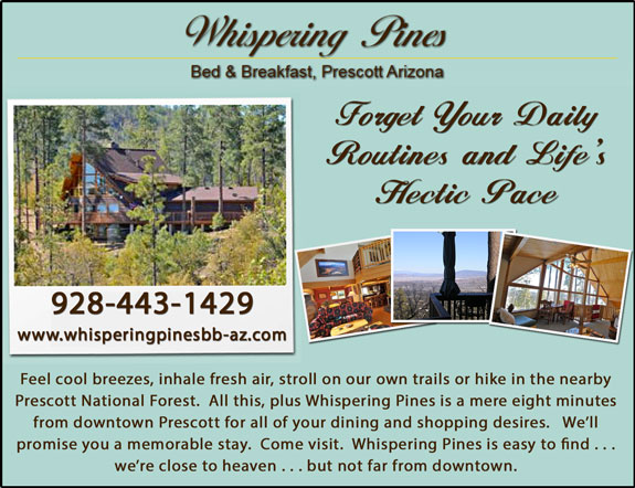Wispering Pines Bed and Breakfast