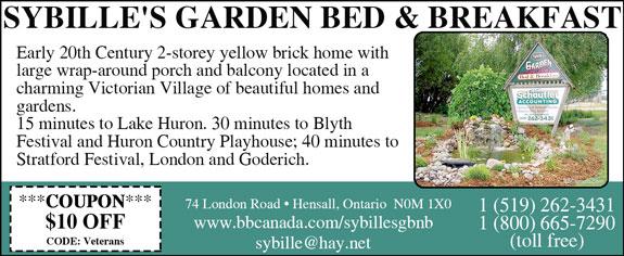 Sybille's Garden Bed and Breakfast