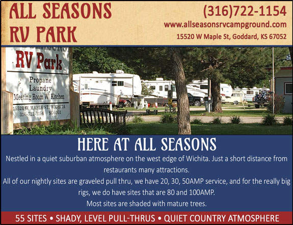 All Seasons RV Park - Wichita