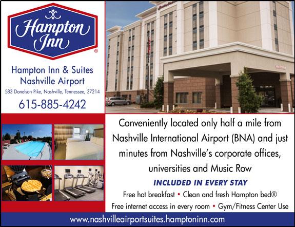 Hampton Inn and Suites - Nashville Airport