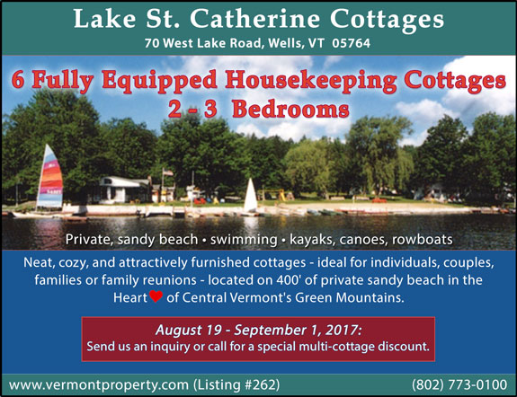 Lake St Catherine Cottages