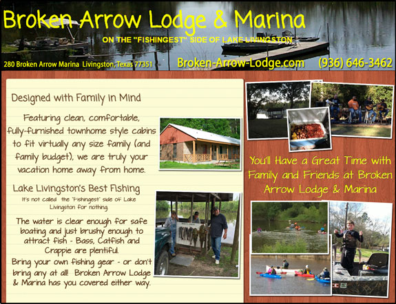 Broken Arrow Lodge and Marina
