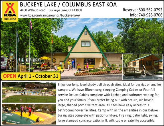 Buckeye Lake - Columbus East KOA