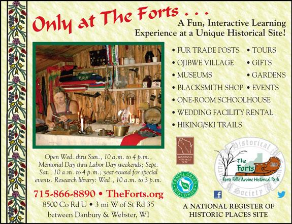 Forts Folle Avoine Historical Park
