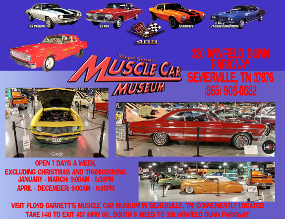 Floyd Garret's Muscle Car Museum