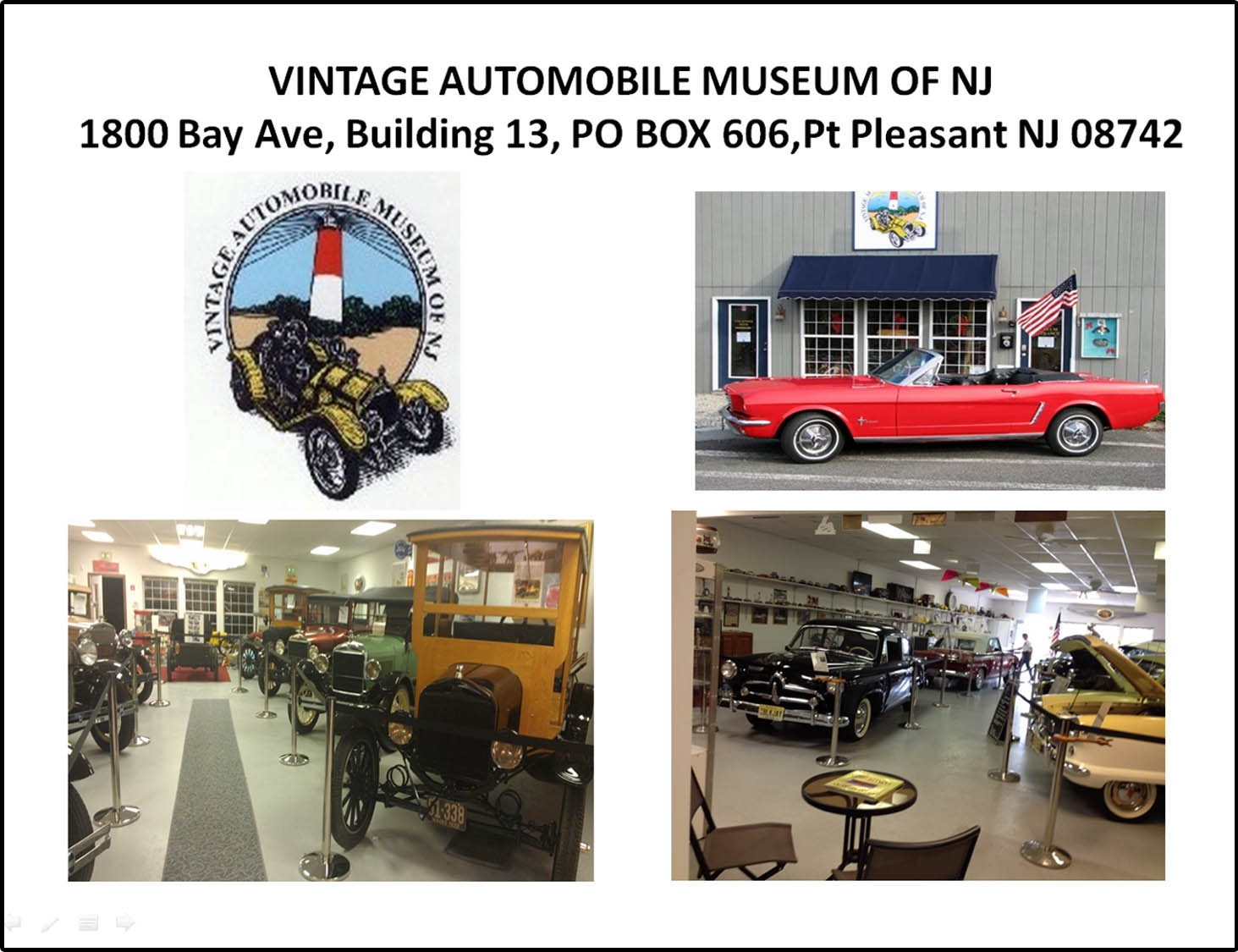 Vintage Automobile Museum of New Jersey