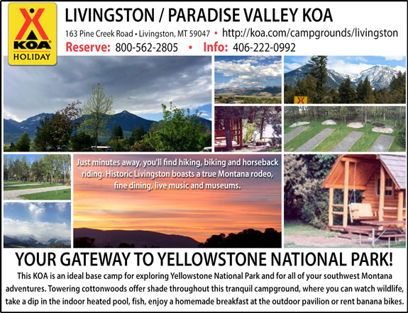 Linvingston/Paradise Valley KOA