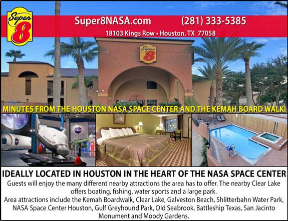Super 8 Houston (NASA)