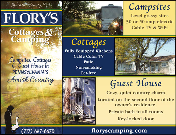 Flory's Cottages and Camping