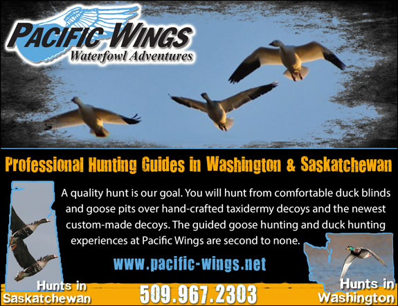 Pacific Wings Water Fowl Adventures