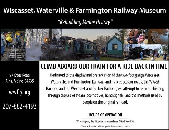 Wiscasset, Waterville and Farmington RR Museum