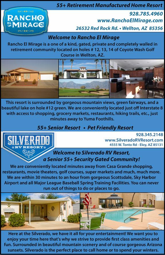 Rancho El Mirage/Silverado RV Resort