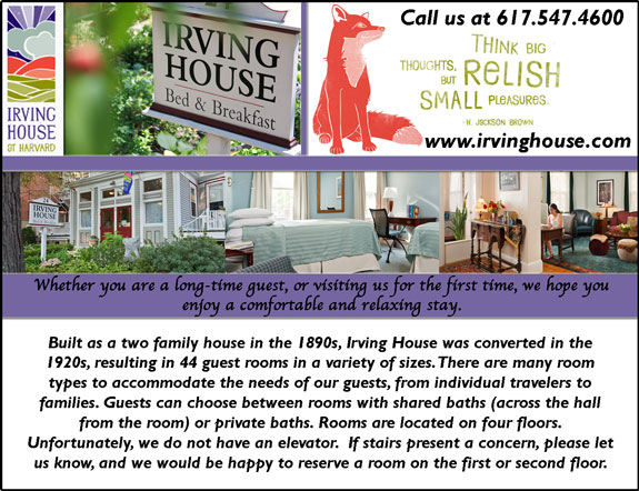 Irving House Bed and Breakfast
