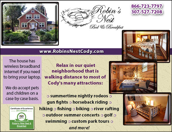Robin's Nest Bed and Breakfast