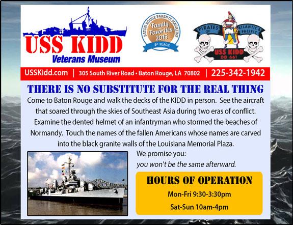 USS Kidd Veterans Memorial