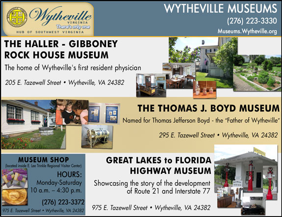 Wytheville Museums